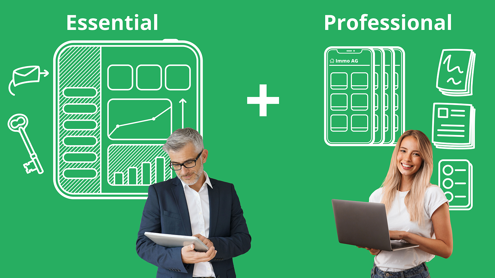 Allthings Pakete Essential und Professional