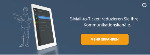 email to ticket banner